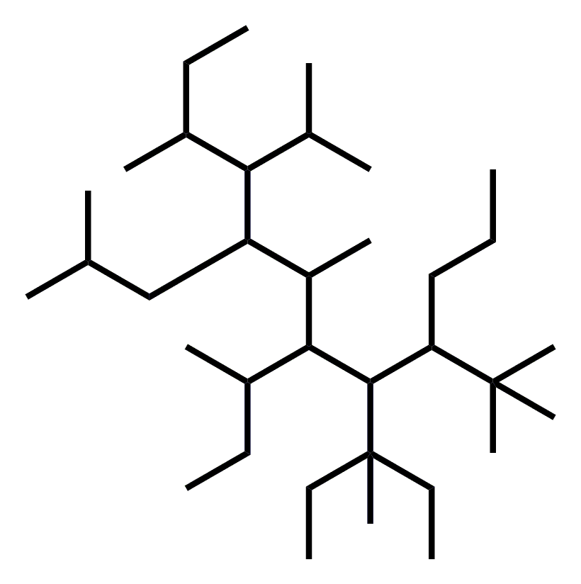 Alkane spaghetti - an ideal alkane to practice your organic chemistry nomenclature