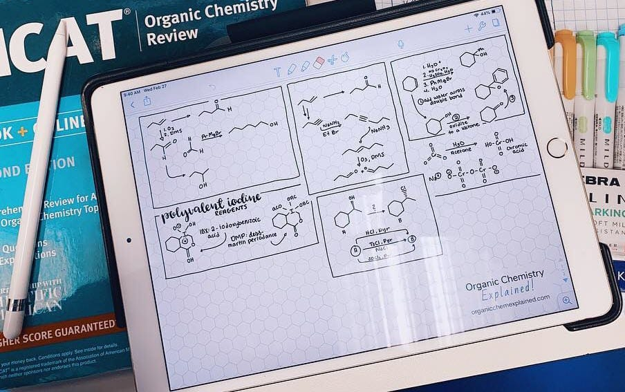 ChemPaper on iPad with Notability