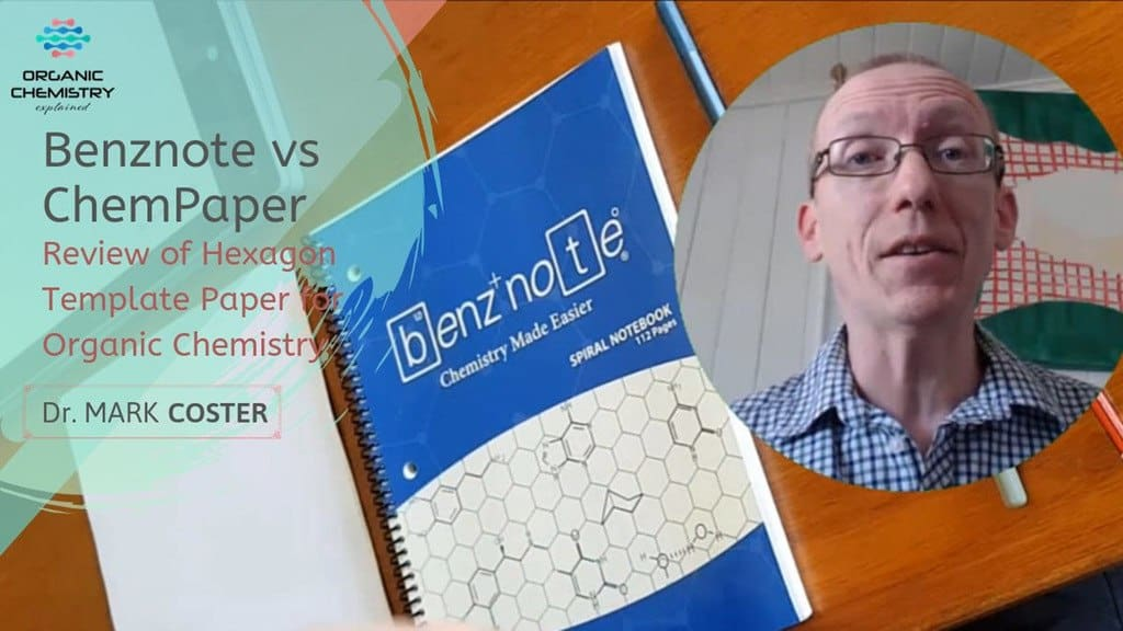 Benznote - Hexagon graph paper for organic chemistry