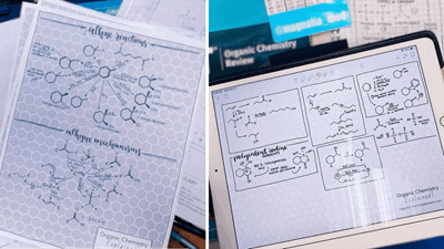 ChemPaper - hexagonal grid paper for organic chemistry